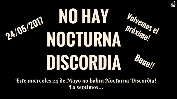 NOCTURNA DISCORDIA #121